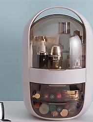 cheap -Cosmetic Storage Box KOL Same Dormitory Household Dust-proof Dressing Table Female Skin Care Product Desktop Rack