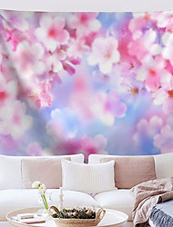 cheap -Blossom Wall Tapestry Art Decor Blanket Curtain Hanging Home Bedroom Living Room Decoration Polyester