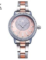 cheap -Shengke Bracelet Women Watch New Quartz Top Brand Luxury Fashion Crystal Wristwatches Ladies Gift Relogio Feminino