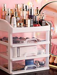 cheap -Jewelry Container Make Up Case Makeup Brush Holder Organizers Box Makeup Organizer Drawers Plastic Cosmetic Storage Box Rack 1PCS headband