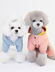 cheap -pet clothes dog clothes autumn and winter new style 20 woolen cap super thick cotton coat pet clothes autumn and winter clothes wholesale