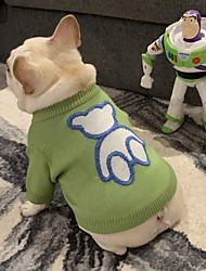 cheap -pet tide brand net red clothes dog cat fighting teddy schnauzer net red puppy autumn/winter sweater sweater