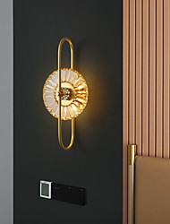 cheap -Crystal Modern Wall Lamps LED Wall Sconces Bedroom Dining Room Copper Wall Light 220-240V 5 W
