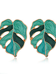 cheap -Women's Drop Earrings Earrings Retro Leaf Stylish European Earrings Jewelry Purple / Yellow / Pink For Party Gift Daily Holiday Prom 1 Pair