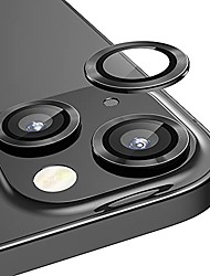 cheap -[2+1]  for iphone 13 (6.1 inch)/ iphone 13 mini (5.4 inch) camera lens protector,anti scrach hd tempered glass camera screen protector shockproof cover film,black