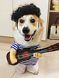 cheap -Dog Cat Dog clothes Fashion Casual Daily Halloween Dailywear Dog Clothes Puppy Clothes Dog Outfits Warm 1 Costume for Girl and Boy Dog Cotton Blend S M L XL