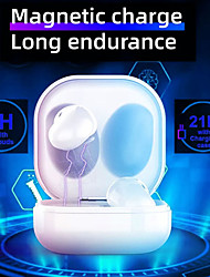 cheap -NIA S6 Pro True Wireless Headphones TWS Earbuds Bluetooth 5.1 Stereo with Microphone with Volume Control for Apple Samsung Huawei Xiaomi MI  Zumba Fitness Running Mobile Phone