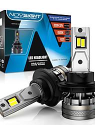 cheap -NOVSIGHT H7 Led Car Headlight Bulbs H4 H11 H8 H9 H1 H3 9004 9005 9006 9007 120W 22000LM Decoder Auto Headlamp 6500K Fog Lights 2pcs