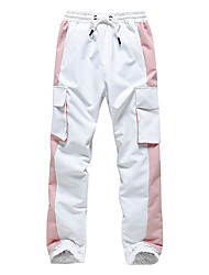 cheap -Men's Ski / Snow Pants Thermal Warm Waterproof Windproof Breathable Winter Pants / Trousers for Snowboarding Ski Mountain / Cotton / Women's