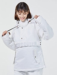 cheap -Men's Ski Jacket Thermal Warm Waterproof Windproof Breathable Hooded Winter Winter Jacket for Snowboarding Ski Mountain / Women's