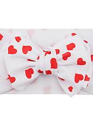cheap -Kids Girls' Active / Sweet Casual / Daily / Sports Heart Classic / Stylish / Bow Hair Accessories Red