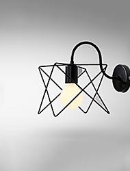 cheap -Creative Vintage Flush Mount Wall Lights LED Shops / Cafes Office Iron Wall Light IP24 220-240V