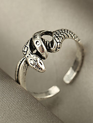 cheap -Ring Vintage Style Silver Silver 2 Silver 3 Alloy Snake Stylish Rustic / Lodge Gothic 1pc / Women's / Men's / Open Ring