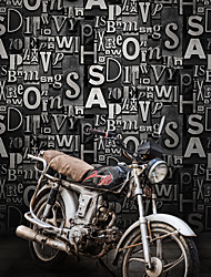 cheap -Wallpaper Wall Covering Sticker Film Industrial style Character Vinyl PVC Home Decor 53*1000cm