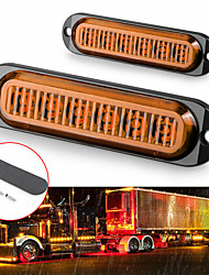 cheap -2pcs OTOLAMPARA Car LED Tail Lights Light Bulbs 600 lm SMD 3030 6 W 6 For universal All Models All years