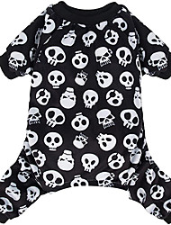 cheap -Halloween Dog Pajamas Costumes Pet Clothes Cat Apparel Shirt Winter Holiday Cute Pjs Outfits for Doggie Onesies
