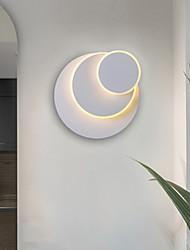 cheap -Wall Light Nordic Lamps Corridor Living Room Bedroom Lamp LED Stair Lighting Creative Bedside Circular Rotating