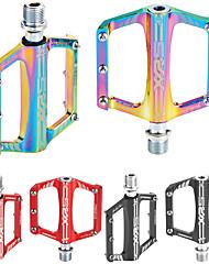 cheap -Bike Pedals Anti-Slip High Strength Durable Aluminium 7075 for Cycling Bicycle Road Bike Mountain Bike MTB Red