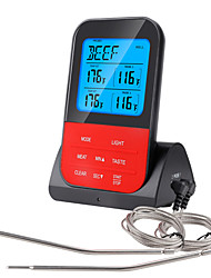 cheap -Waterproof Wireless Digital BBQ Thermometer Device Cooking Meat Food Oven Grill With Timer Function