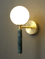 cheap -Wall Light LED Modern Nordic Style Indoor Living Room Bedroom Copper 220-240V