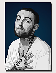 cheap -Wall Art Canvas Prints Painting Artwork Picture Mac Miller Painting Home Decoration Decor