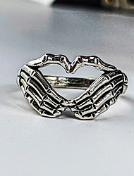 cheap -Ring Vintage Style Silver Silver 2 Alloy Unique Design Gothic Vintage 1pc / Women's / Men's / Knuckle Ring