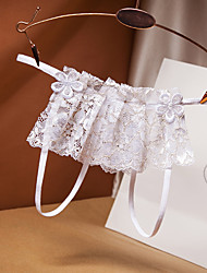 cheap -Women's Sexy Bodies Panties Bed Transparent Hole Pure Color Cotton Ultra Slim Hot Fashion Undergarments Fall Winter Spring