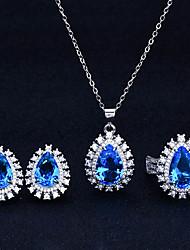 cheap -Women's Drop Earrings Necklace Earrings Classic Artistic Fashion Punk Korean Sweet Earrings Jewelry Yellow / Blue / Pink For Street Gift Daily Work Festival 1pc / Ring