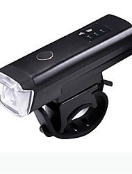 cheap -LED Bike Light Emergency Lights Front Bike Light Safety Light LED Bicycle Cycling Waterproof LED New Design Easy Carrying Rechargeable Lithium-ion Battery 400 lm Built-in Li-Battery Powered Everyday
