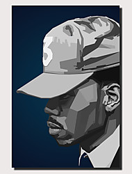 cheap -Wall Art Canvas Prints Painting Artwork Picture Chance The Rapper black Painting Home Decoration Decor