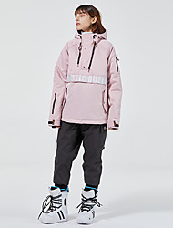 cheap -Men's Ski Jacket with Pants Thermal Warm Waterproof Windproof Breathable Hooded Winter Clothing Suit for Snowboarding Ski Mountain / Women's