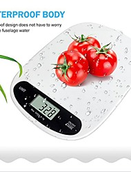 cheap -CK09 Digital Kitchen Electronic Scale 5kg ±1g Portable Auto Off LCD Display Kitchen daily