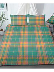 cheap -Print Home Bedding Duvet Cover Sets Soft Microfiber For Kids Teens Adults Bedroom Geometric 1 Duvet Cover 1/2 Pillowcase Shams