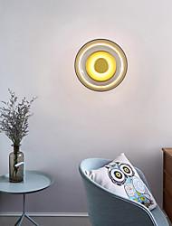 cheap -Modern Nordic Style LED Wall Lights Living Room Bedroom Glass Wall Light 220-240V 7 W