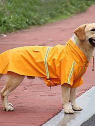 cheap -New Pet Raincoat Reflective Big Dog Raincoat Cloak Transparent Dog Raincoat Spot Pet Clothes