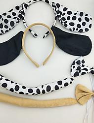 cheap -2 Pcs/set Children's Headbands Show Animal Headwear Party Supplies Halloween Hair Accessories Play Role Modeling Dog Headband