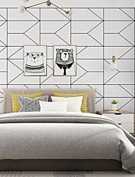cheap -Wallpaper Wall Covering Sticker Film Geometry Non Woven Home Decor 53*1000cm