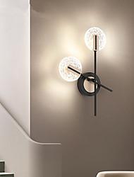 cheap -Cute LED Modern LED Wall Lights Living Room Bedroom Acrylic Wall Light IP44 110-120V 220-240V 4/8 W