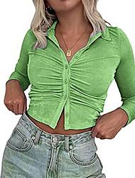cheap -women y2k 90s e-girl vintage summer crop top long sleeve floral print e girl slim fit cardigan t-shirt streetwear (z8, m, m)