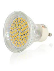 cheap -1pc 4pcs 6pcs 10pcs 12pcs  3.5 W LED Spotlight 300-350 lm  GU10 60 LED Beads SMD 2835 Decorative Warm White Natural White White 220-240 V