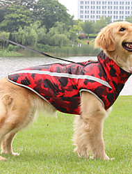 cheap -new style dog clothes, warm autumn and winter pet dog clothes, big dog jackets, reflective padded dog clothes wholesale