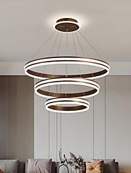 cheap -80 cm Pendant Lantern Design Pendant Light LED Aluminum Brushed LED 220-240V