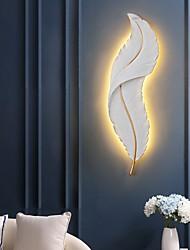cheap -Modern LED Wall Lights Bedroom Dining Room Resin Wall Light 220-240V 20 W