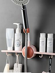 cheap -Shower Holder For Adjusting Shower Head Fixed Base Rack With Hook