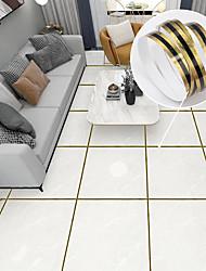 cheap -Beautiful Seam Stickers Hall Bedroom Tiles Beautiful Seam Stickers Marble Pattern Brushed Gold Self-adhesive Beautiful Edge Line Floor Stickers