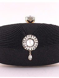 cheap -Women's Bags Clutch Evening Bag Evening Party Formal Date Champagne Silver Gold Black