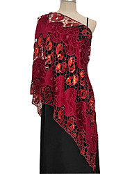 cheap -Sleeveless Elegant Lace Party / Evening / Birthday Women's Wrap With Lace / Sided Hollow Out