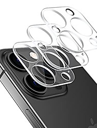 cheap -[3 pack]  camera lens protector compatible with iphone 13 pro/iphone 13 pro max, scratch resistant tempered glass film hd clear screen protector for iphone 13 pro 6.1/13 pro max 6.7 inch 2021