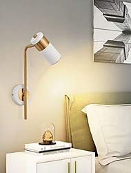 cheap -Nordic Wall Light LED Hotel Bedroom Bedside Spotlight Creative Restaurant Background Wall Simple Wall Hanging Lamp