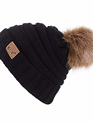 cheap -men women wool knit hats baggy warm cap crochet winter fashion beanie skull slouchy caps hat outdoor headwear